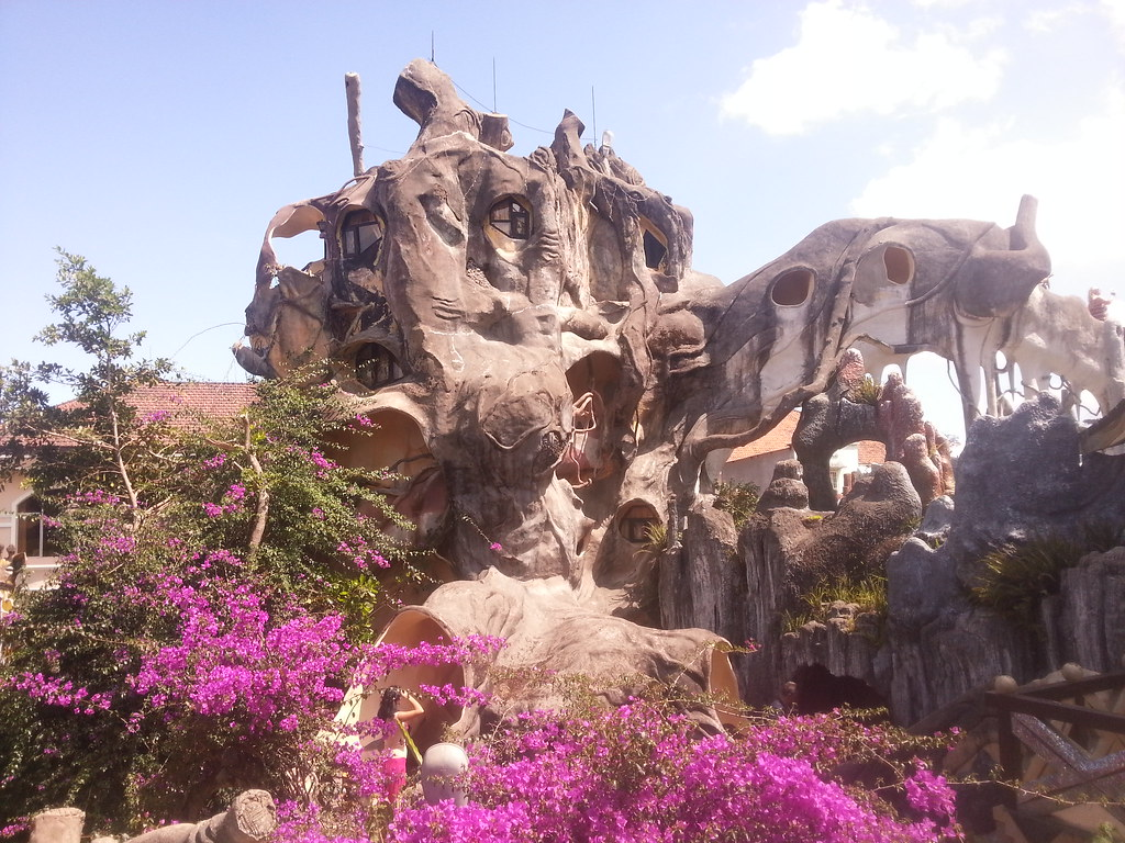Crazy House, things to do in da lat