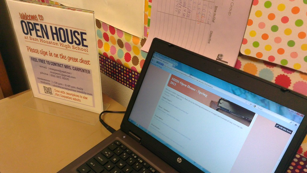 Open House Form Using Google Forms
