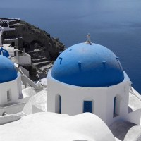 Postcards: Blue in Oia (GR)