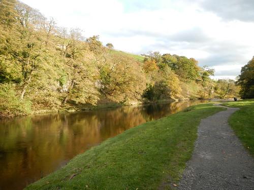 River Wharfe at Burnsall