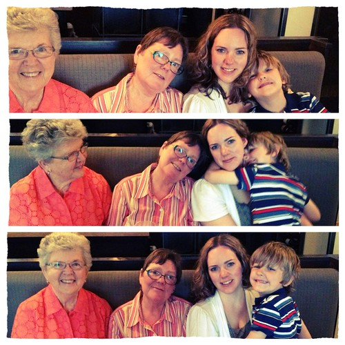 Four generations. Pretty amazing.