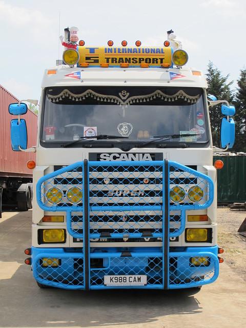 Trevor Starkes - Scania 143