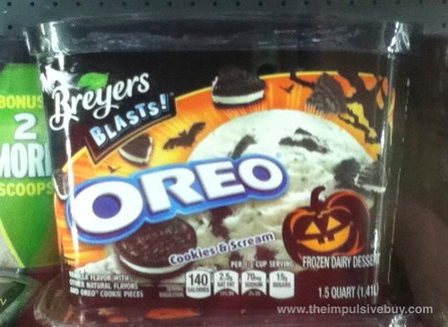 Breyers Blasts Oreo Cookies & Scream