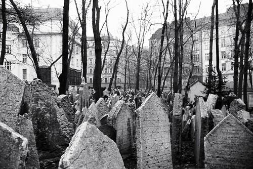 Prag - Alter jüdischer Friedhof
