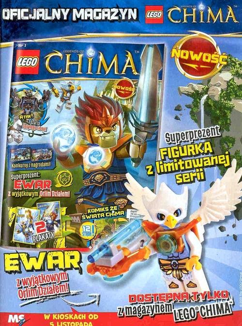 Legends of Chima Oficjalny Magazyn Reklama