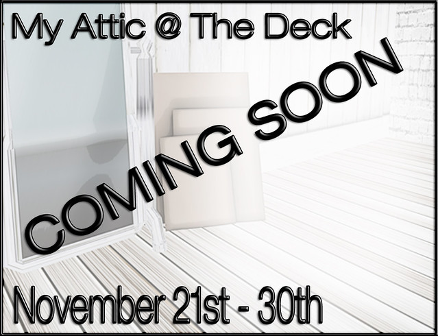 My Attic - COMING SOON NOVEMBER