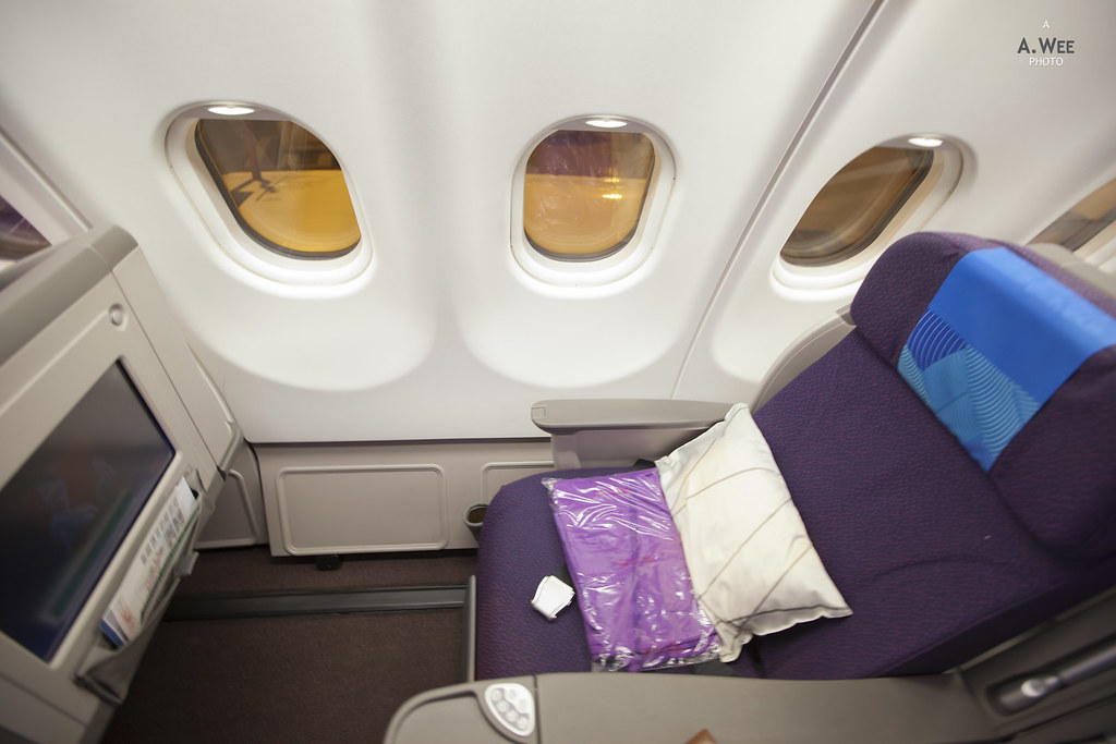 Window Seat in the Business Class Cabin