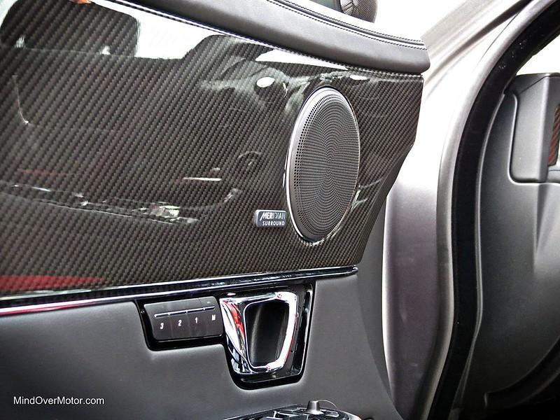 Jaguar XJR Carbon Fiber Veneer