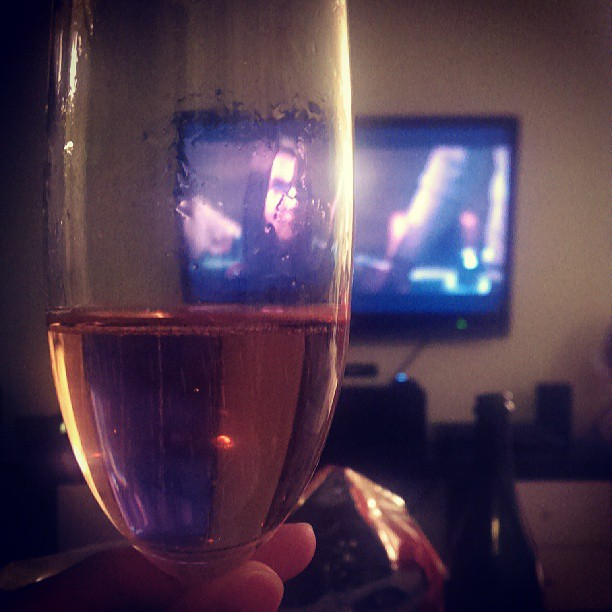 Watching The Host through pink wine goggles