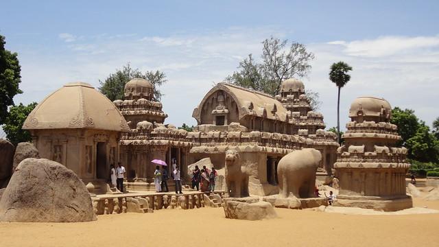 Pancha ratha, Mahabalipuram