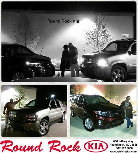 Thank you to Pj Jones on your new 2011 #Chevrolet #Avalanche from Kelly  Cameron and everyone at Round Rock Kia! #RollingInStyle by RoundRockKia