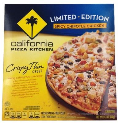 California PIzza Kitchen Limited Edition Spicy Chipotle Chicken Crispy Thin Crust Pizza