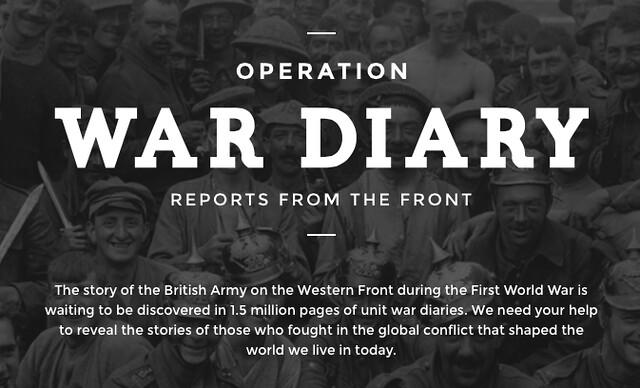 Operation War Diary Screenshot