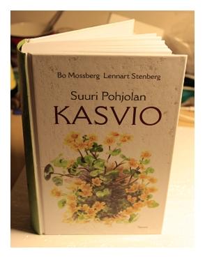 Suuri Pohjolan Kasvio -teos kasvinäytteiden tunnistamista varten.