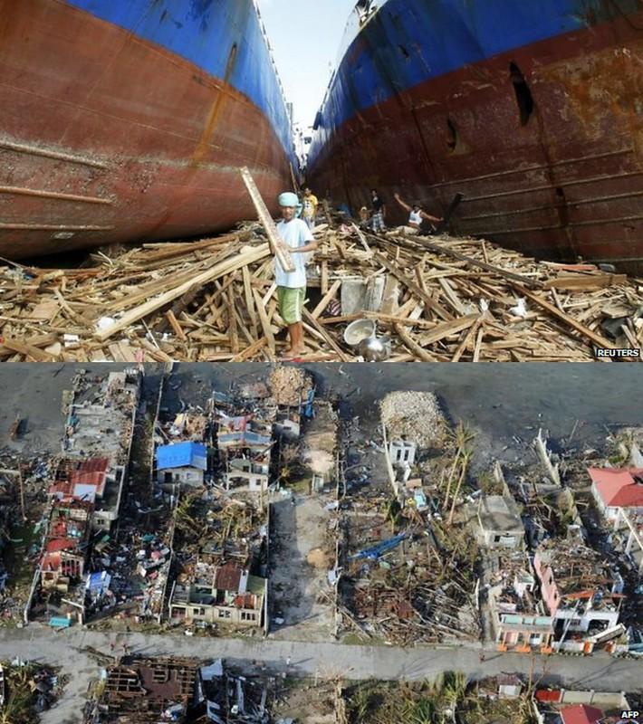 Typhoon Haiyan via BBCNews