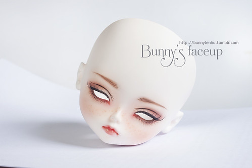LeekeWorld Iris, LeekeWorld Iris bjd face-up, bjd faceup, leekeworld doll, ball jointed doll, bjd doll, bup be khop cau, búp bê khớp cầu, búp bê bjd, bup be bjd