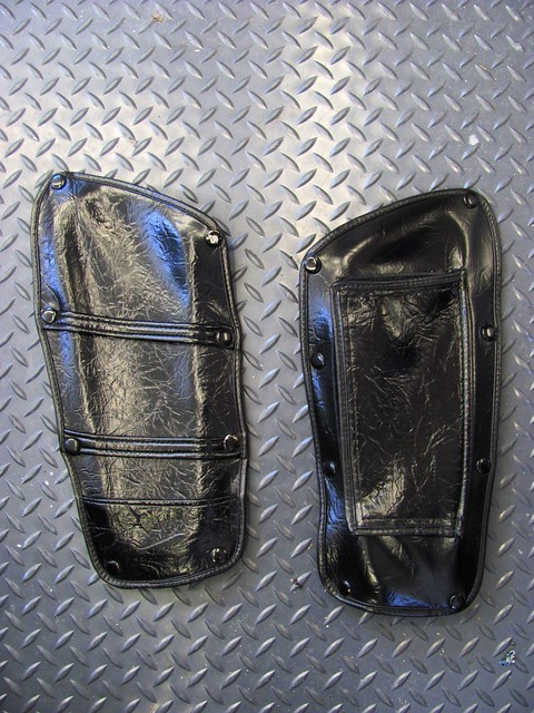 Cleaned & Conditioned Storage Pocket Covers
