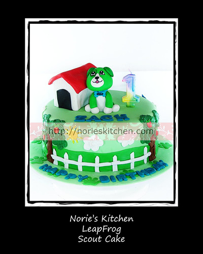 Norie's Kitchen - LeapFrog Scout Cake by Norie's Kitchen