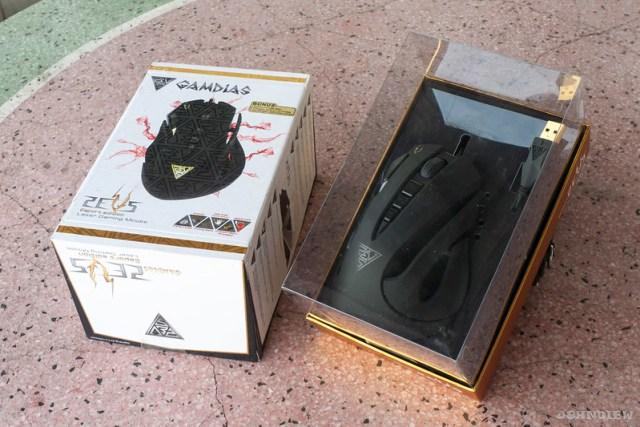 GAMDIAS ZEUS Esport Edition Laser Gaming Mouse 4