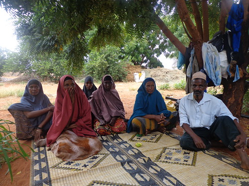 Members of the Muungano Makaror farming group in Wajir East
