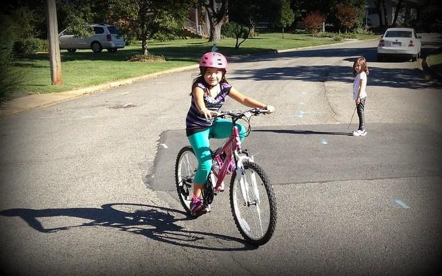 Maya biking