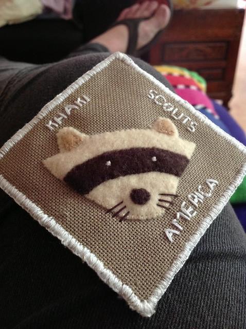 WIP Kakhi Scouts of America Badge