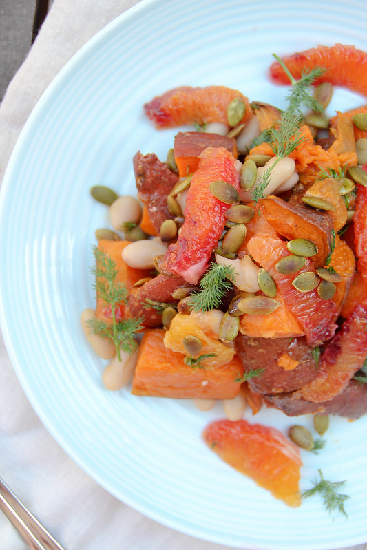 the orange-iest salad