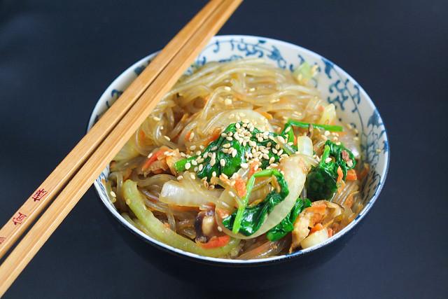 japchae (korean stir fry noodles) [ inthiskitchen.com ]
