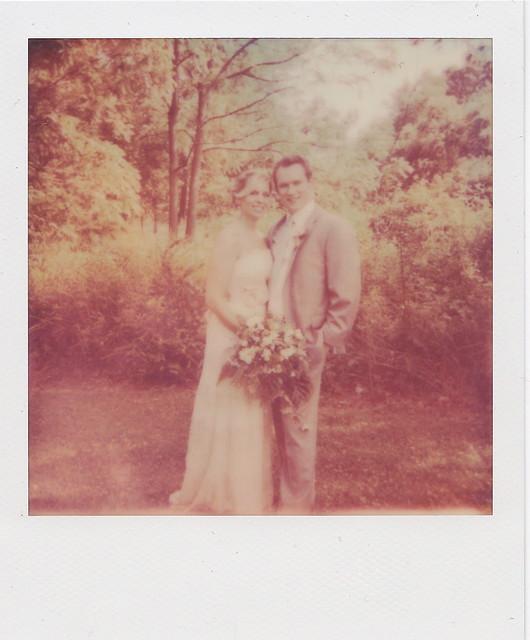 Tim and Liz Polaroid