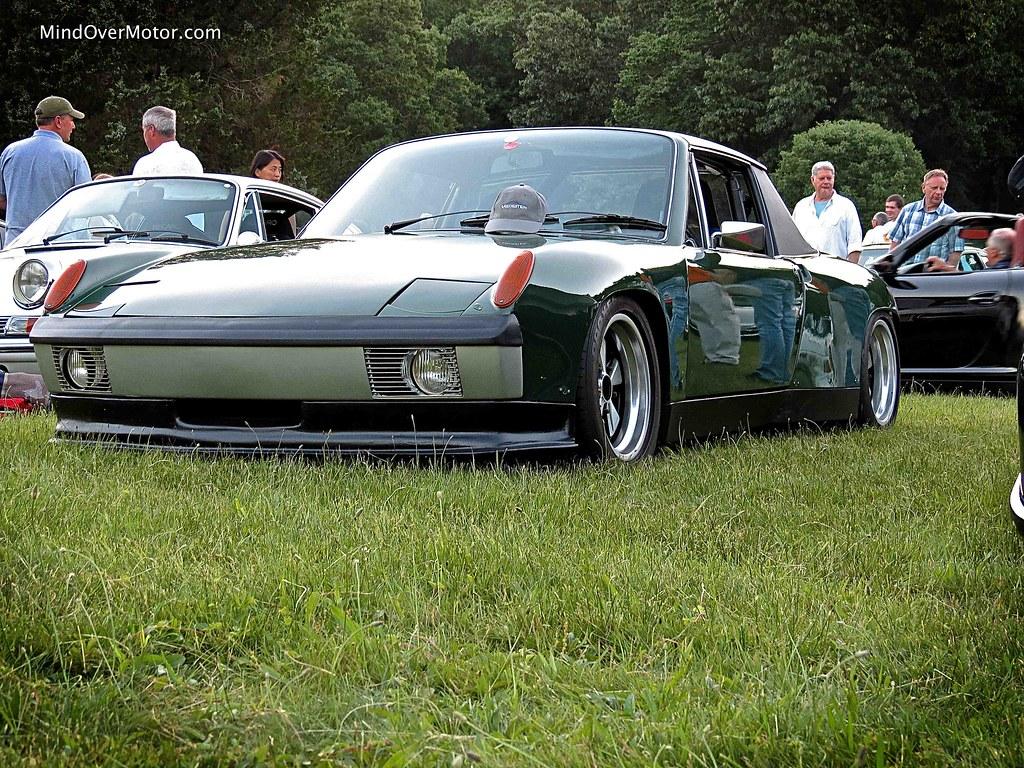 Slammed Porsche 914-6