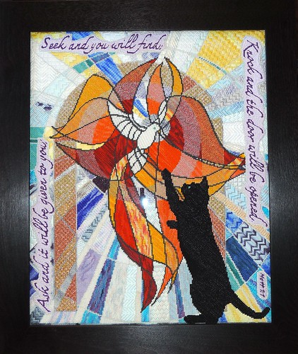 Reaching for Faith Framed by Carmen CS