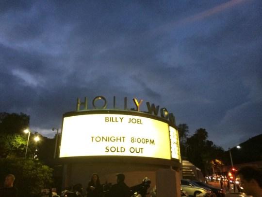 Billy Joel at the Hollywood Bowl