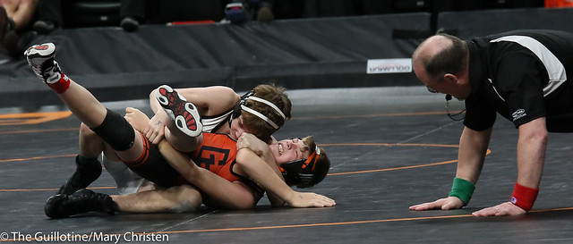 106 - Owen Werner (Perham) over Dusty Wilke (Grand Rapids) Fall 1:17
