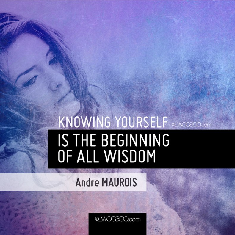 Knowing Yourself by WOCADO