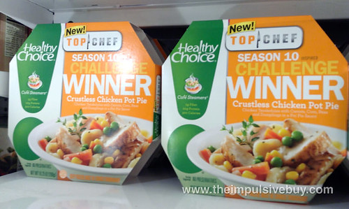 Healthy Choice Top Chef Crustless Chicken Pot Pie