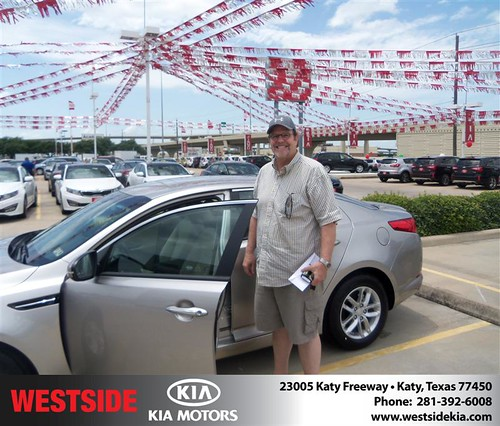 Westside KIA Houston Texas Customer Reviews and Testimonials - Chris Reeves by Westside KIA