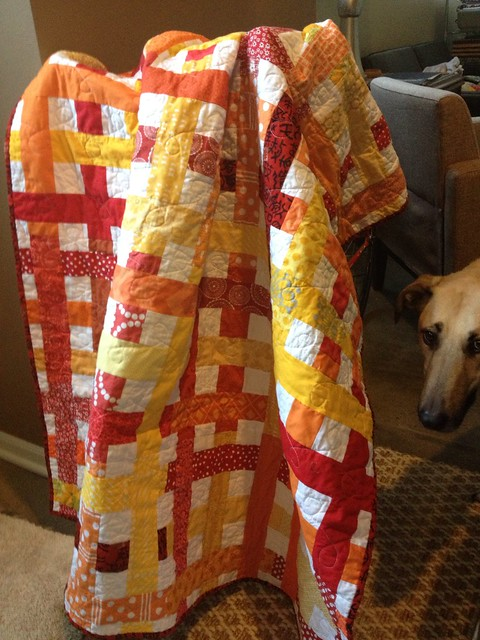 Harmony. do. good. stitches. Woven Quilt