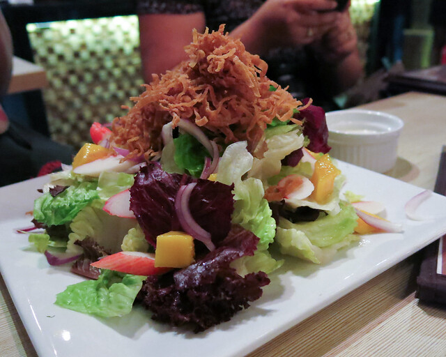 Mango Crab Salad at Brickfire
