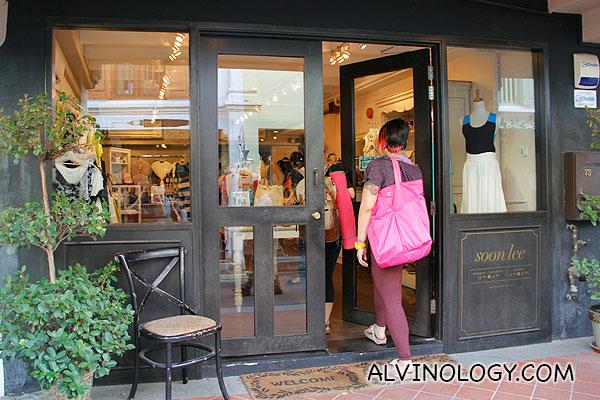 soon lee - local designer label, exclusive at Haji Lane