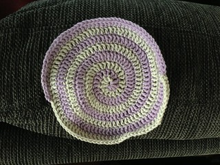 Spiral dishcloth