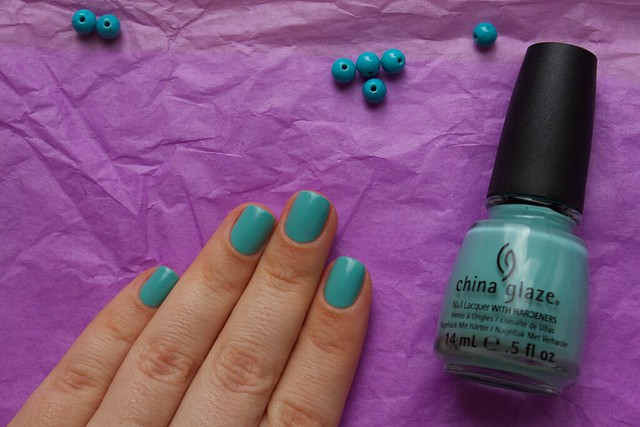 10 China Glaze For Audrey swatches