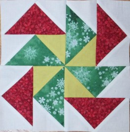 Jingle - Pieced Block 4