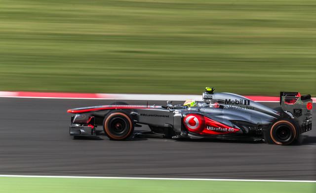 Silverstone - Perez Blowout