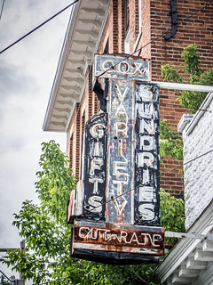 Old Sign in Monterey, Virginia