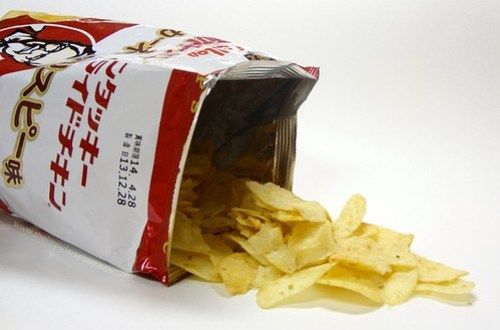 Calbee Kentucky Fried Chicken KFC Colonel Crispy Potato Chips 3