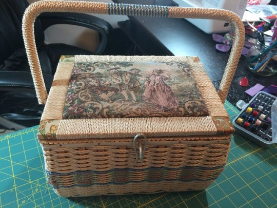 my gramma's sewing box