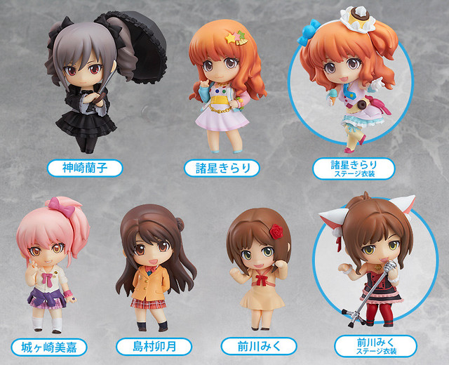 Nendoroid Petite: IDOLM@STER Cinderella Girls - Stage 02