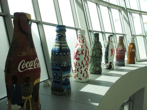Coca-Cola artwork at the World of Coca-Cola.
