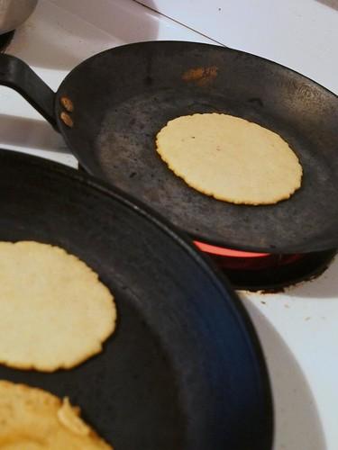 Cooking Tortialls