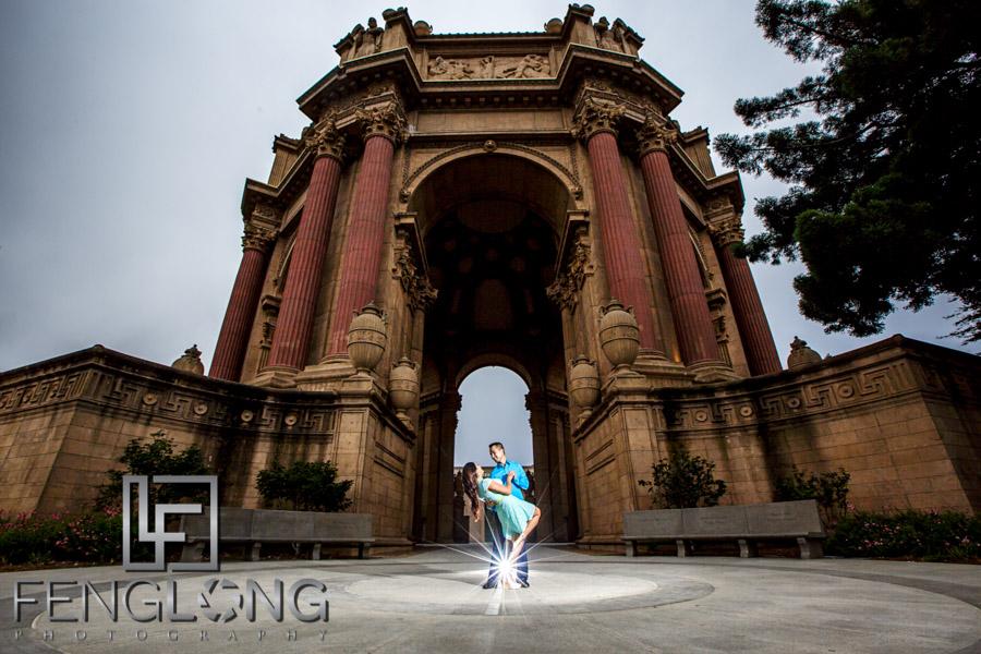 Hang & Bory's Engagement Session   Palace of Fine Arts   San Francisco Destination Engagement Photography